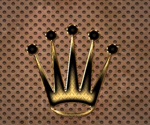 crown, pretty, and queen bee image