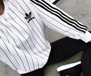 adidas, sport, and tendance image