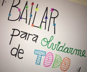 colores, frase, and bailar image