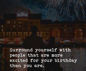 birthday, quotes, and friends image