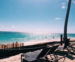 beach, Dominican Republic, and punta cana image