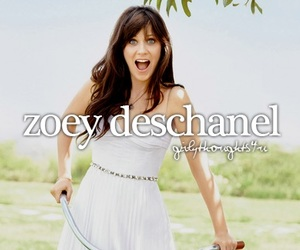zoey deschanel and girly thoughts image