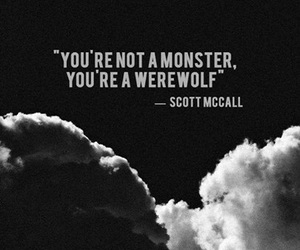 teen wolf, scott mccall, and werewolf image