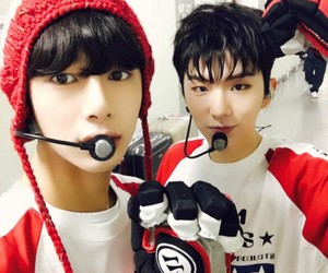 kihyun, hyungwon, and monsta x image