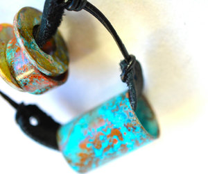 etsy, shabby chic, and upcycled necklace image