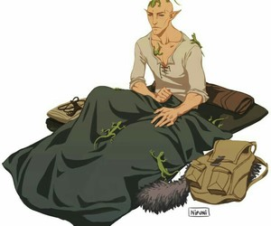 elf, elven, and dread wolf image