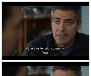 george clooney, love, and up in the air image