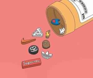 adidas, nike, and supreme image