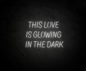 Lyrics, neon, and Taylor Swift image