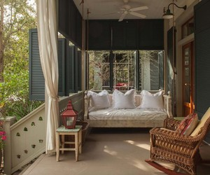 daybed, outdoor living, and inspiration image