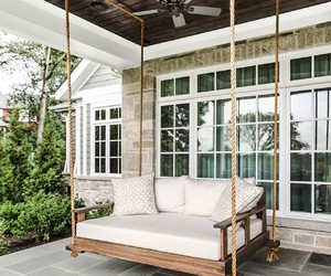 daybed, inspiration, and outdoor living image