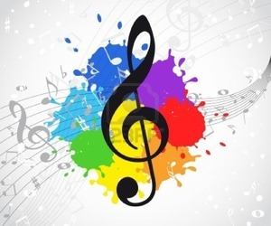 music and colors image