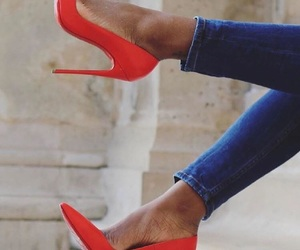 classy, heels, and fashion image