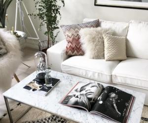 decor, interior, and living room image