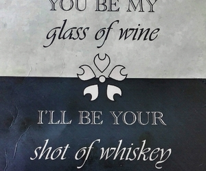 glass, quote, and shot image
