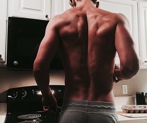 back, boys, and kitchen image