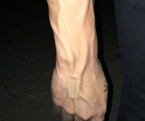 hands, Hot, and veins image