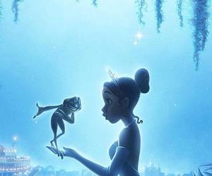 disney, frog, and princess image