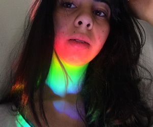 colors, rainbow, and gay image