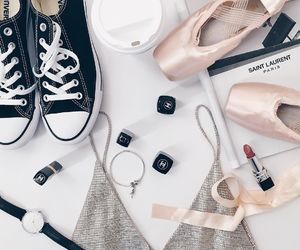 shoes, ballet, and converse image