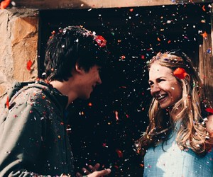 asa butterfield, the space between us, and britt robertson image