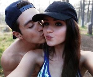 kiss, gabriel conte, and jessriel image