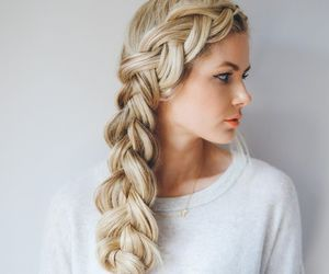 beauty, hair, and tumblr image