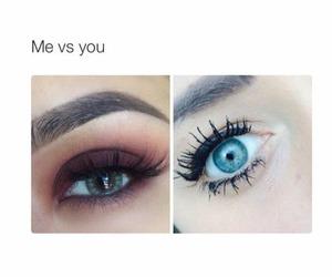 me vs you image