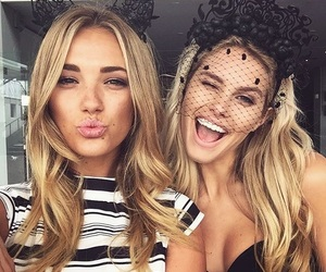 bffs, cat ears, and fashion image