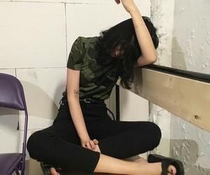 korean, ulzzang, and girl image