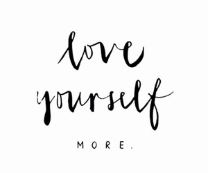 love yourself, quotes, and wallpaper image