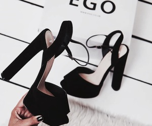 shoes and black image