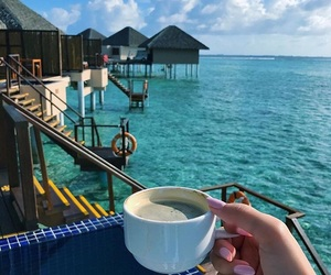 coffee, Maldives, and place image