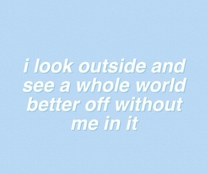 grunge, blue, and quotes image