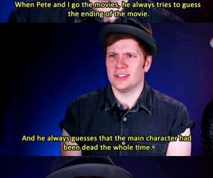 fall out boy, patrick stump, and FOB image