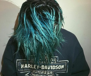 blue, blue hair, and boy image