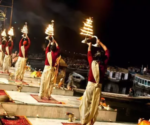 travel, tour packages, and varanasi tour image