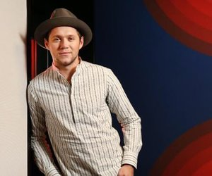 beautiful, hat, and niall horan image