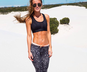 motivation, fitness, and beach image