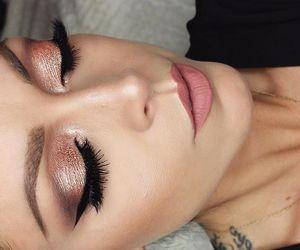 beauty, fashion, and eyeliner image