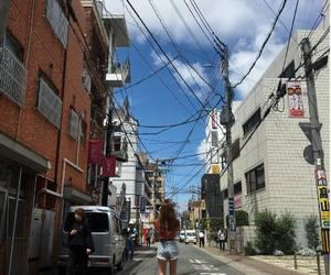 city, korea, and tokyo image