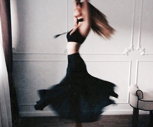 dance, black, and dress image