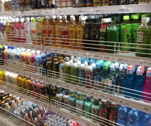 convenience, drinks, and korea image