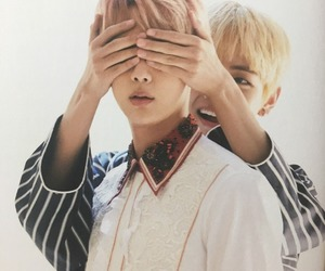 bts, jin, and taehyung image