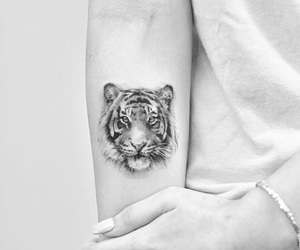 tattoo and tiger image