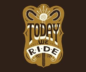 bikes, typography, and biking image