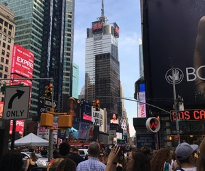 amazing, times square, and unreal image
