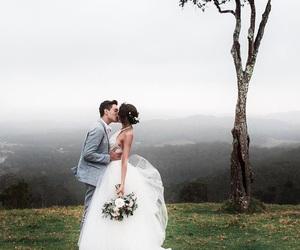 wedding, couple, and gabriel conte image