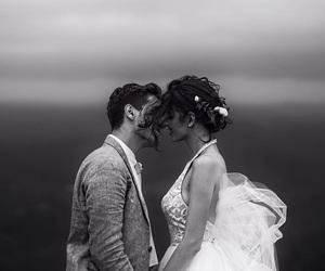 gabriel conte, jess conte, and wedding image