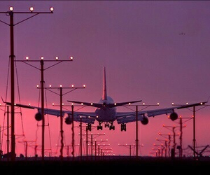 aesthetic, sky, and airplane image
